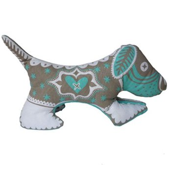 Mary Fellows - Pintuck Pintuck Tea towel Puppy love