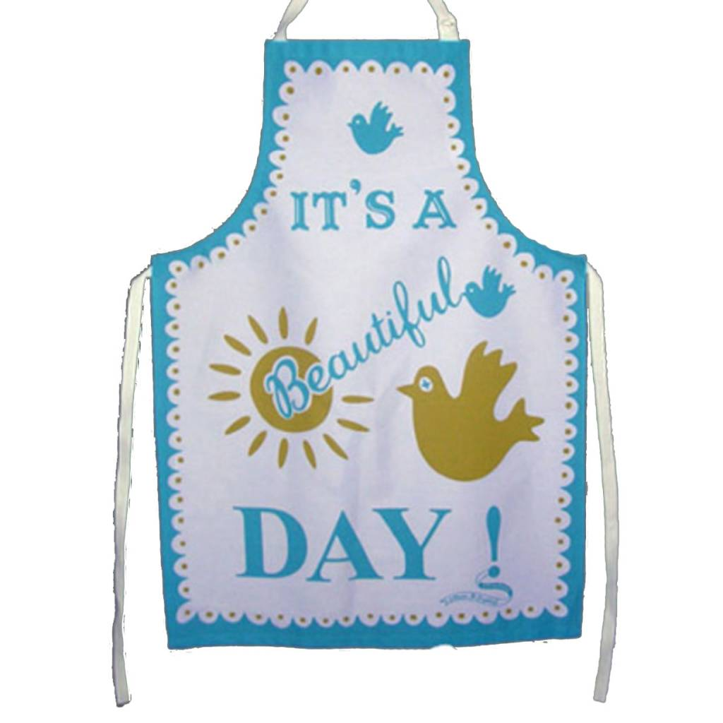 Mary Fellows - Pintuck Pintuck Apron It's a beautiful day