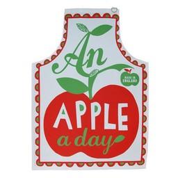 Marry Fellows - Pintuck Apron An apple a day