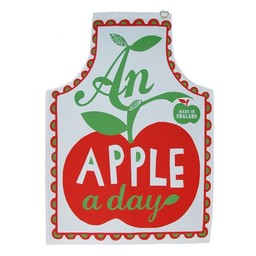 Mary Fellows - Pintuck Pintuck Keukenschort An apple a day