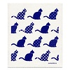 Jangneus Dishcloth Blue Cats