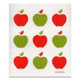 Jangneus Vaatdoek Rode Appels