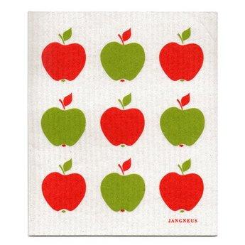 Jangneus Biologische vaatdoek Rode Appels