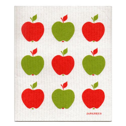 Jangneus Jangneus Dishcloth Red Apples