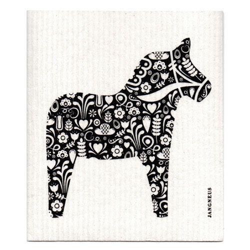 Jangneus Dishcloth Dala Horse