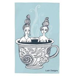lush designs Tea towel ladies