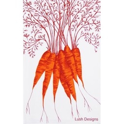 lush designs Tea towel carrots
