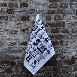 lush designs Tea towel Dishy