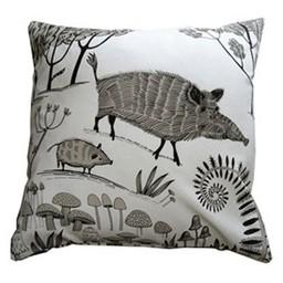 lush designs Kussenhoes Wild zwijn