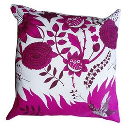 lush designs Cushion cover Bird song