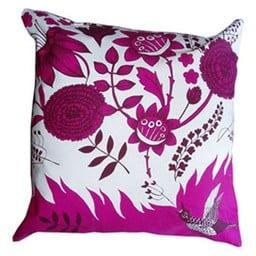 lush designs Cushion cover Bird song