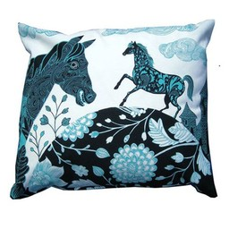 lush designs Cushion cover Horse