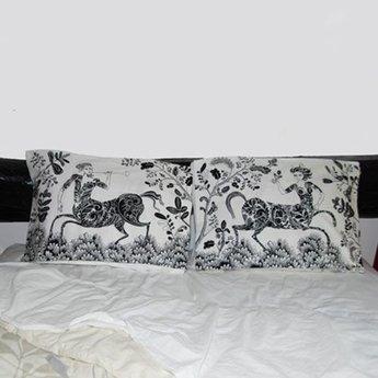 lush designs Pillow Case Centaur