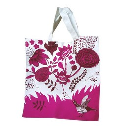lush designs Canvas tas Zingende vogel