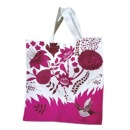 lush designs Canvas Bag Singing Bird