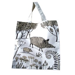 lush designs Canvas tas Wild zwijn
