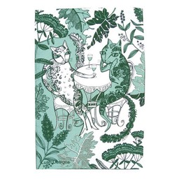 lush designs Tea towel cats