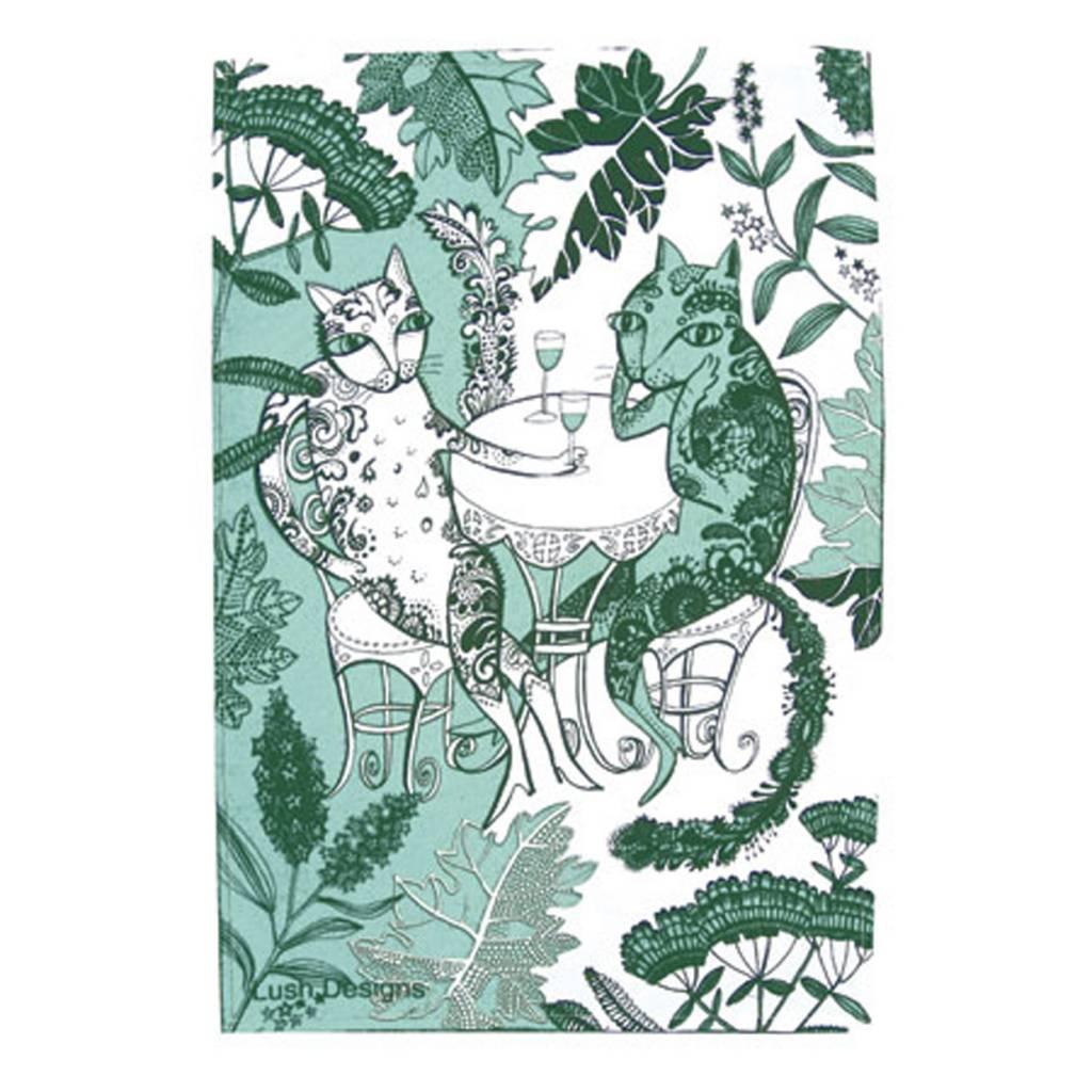 lush designs Theedoek Katten
