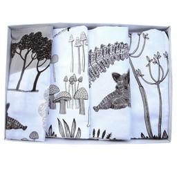 lush designs Napkins Wild Boar