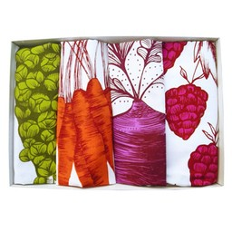 lush designs Napkins Vegetables