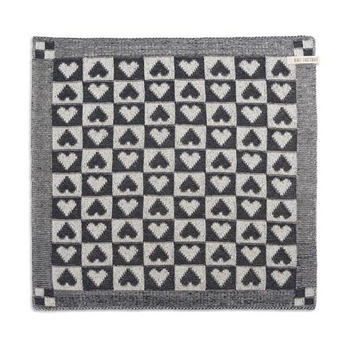 Knit Factory Knitted Kitchen Towel Heart