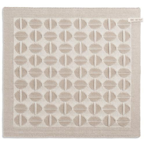 Knit Factory Knitted Kitchen Towel Coffee Bean