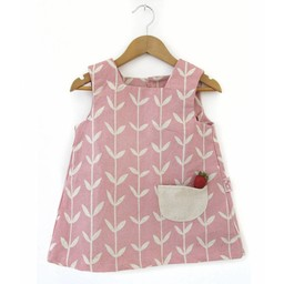 Skinny laMInx Mini dress Orla pink (2-3 year)