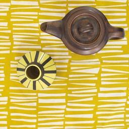 Skinny laMInx Servetten Woodpile - geel