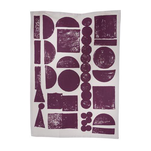 Ferm Living Tea towel Stamp