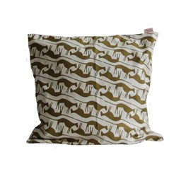 Skinny laMInx Cushion Cover Mongoose Sable