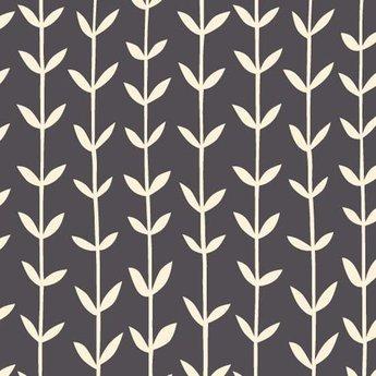 Skinny laMInx Stof Coupon Orla donker  grijs (0,7 x 0,5 m)