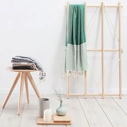 Hammam34 Hammam towel * Shanken not stirred - green