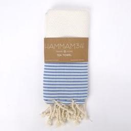 Hammam34 Hamam towel Shaken not stirred - wit