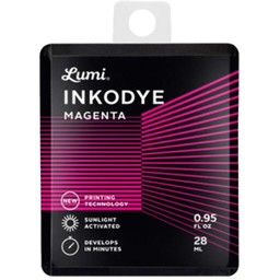 Inkodye DIY Silkscreen ink Snap Pack 28 ml. magenta