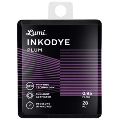 Inkodye DIY Silkscreen ink Snap pack 28 ml. plum