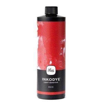 Inkodye DIY Silkscreen ink Red 237 ml.