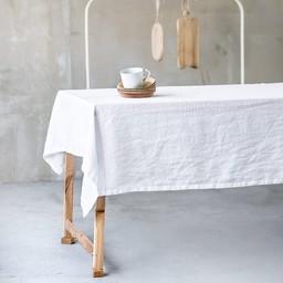 notPERFECTLINEN notPERFECTLINEN * Table cloth * linen white (2,5m. x 1,38 m.)