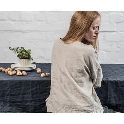 notPERFECTLINEN notPERFECTLINEN * Table cloth * linen black (3 m. x 1,38 m.)