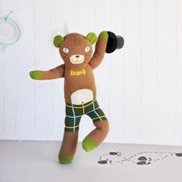 BlaBla Kids Knitted doll Bear Berlioz