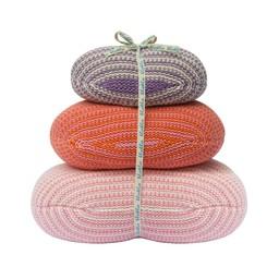 BlaBla Kids Knitted set pebble Stones Pink