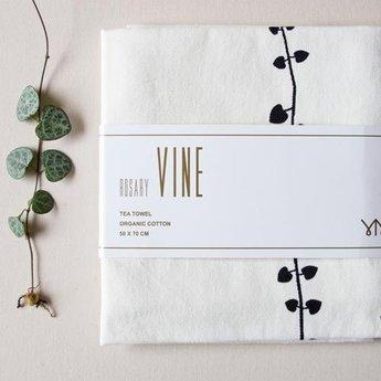 Jurianne Matter Towel Rosary vine