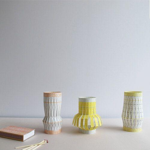 Jurianne Matter DIY Home decoration Weave lanterns