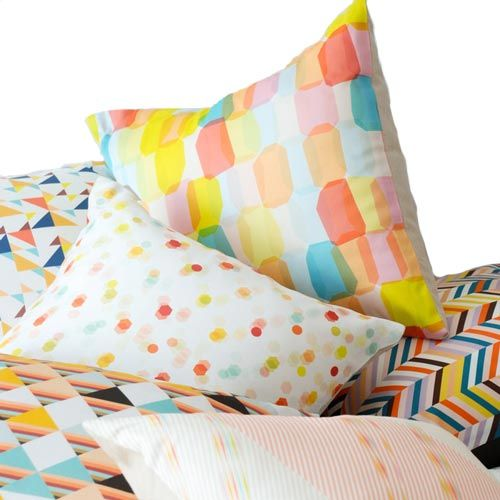 Avril Loreti Throw Pillow Haringbone