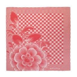 Hollandsche Waaren Theedoeken * Rode Bloem (2 x)