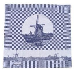 Hollandsche Waaren Theedoek Kinderdijk