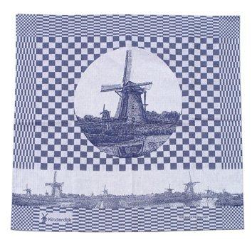 Hollandsche Waaren Tea towel Kinderdijk