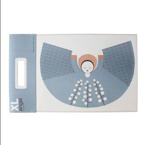 Jurianne Matter DIY Home decoration Angel XL (dusk blue)