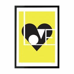 Lu West Giclée print * Love limoen