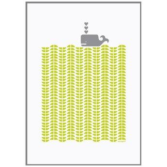 Lu West * Giclée print * Grey whale