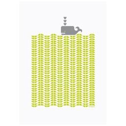 Lu West Giclée print * Grey whale